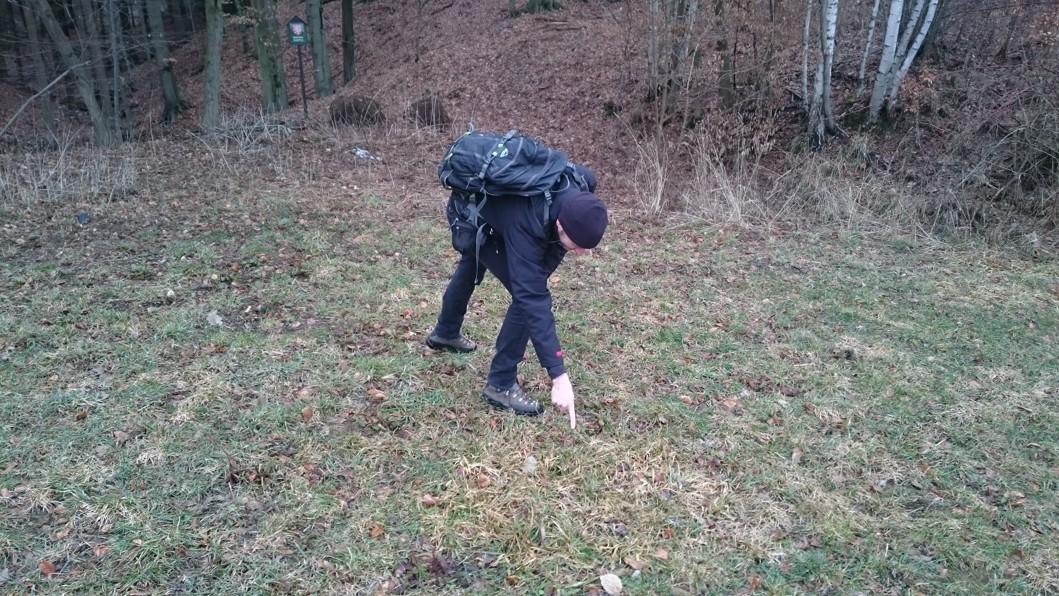 Zavezený propad za závěrnou stěnou Ondříkovického ponoru (V Podhorčí) 3/2019