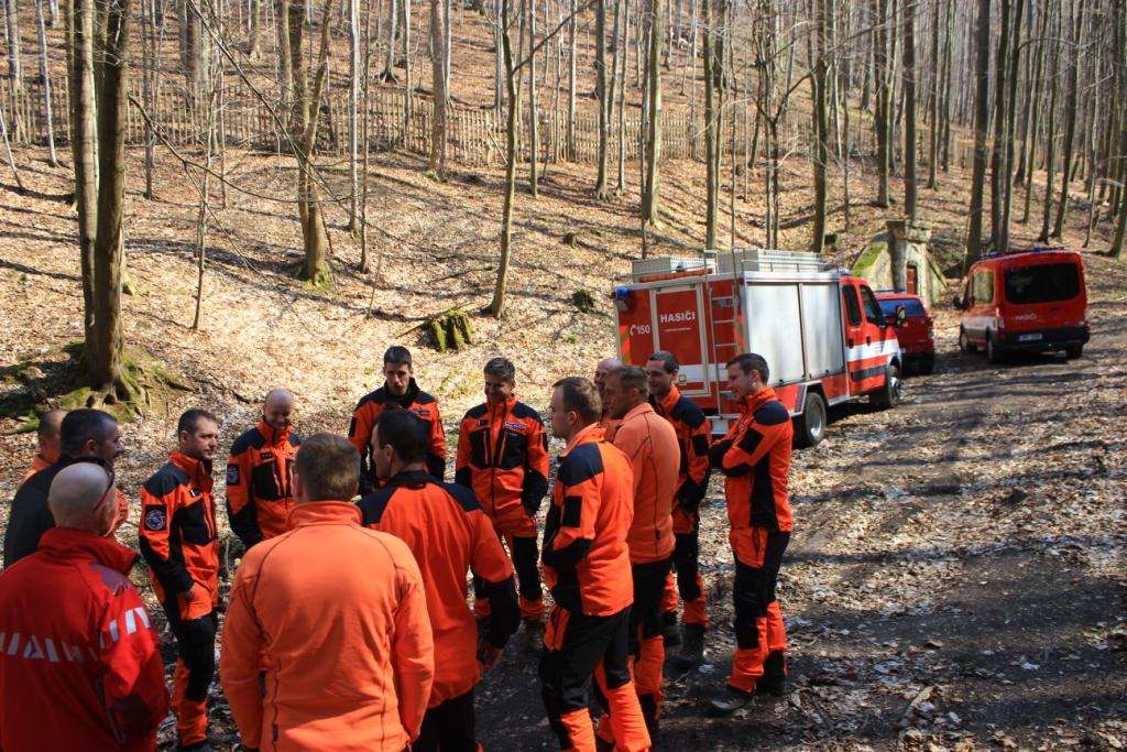 Lezecké družstvo hasičů Jihomoravsého kraje
